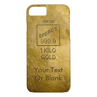 Gold Bar iPhone 8/7 Case