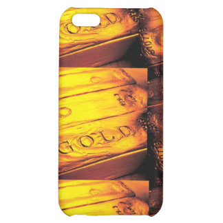 GOLD BAR iPhone 5C COVERS