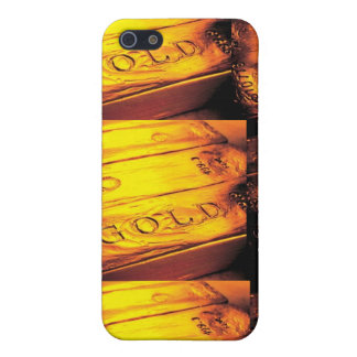 GOLD BAR COVERS FOR iPhone 5
