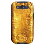 Gold Bar Samsung Galaxy S3 Case