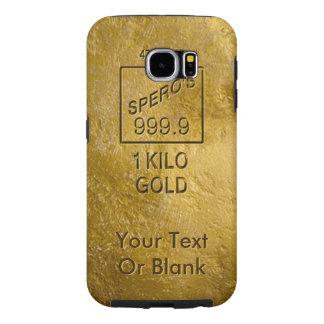 Gold Bar Samsung Galaxy S6 Case