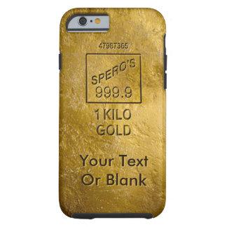 Gold Bar Tough iPhone 6 Case