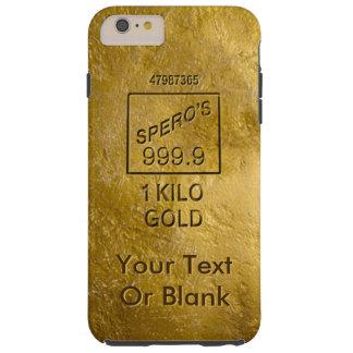 Gold Bar Tough iPhone 6 Plus Case