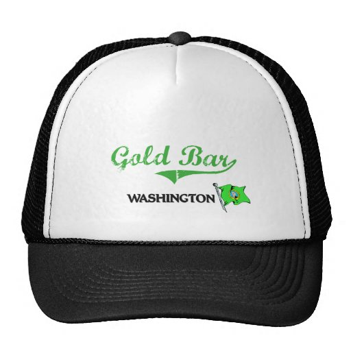 Gold Bar Washington City Classic Trucker Hat