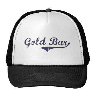 Gold Bar Washington Classic Design Trucker Hat