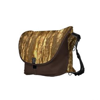 Gold Bark Camo Messenger Bags