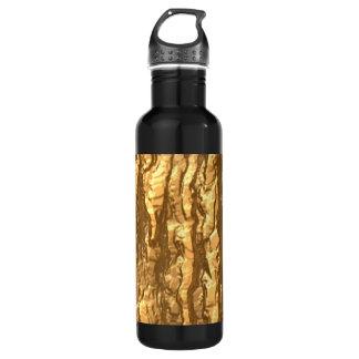 Gold Bark Camo Water Bottle