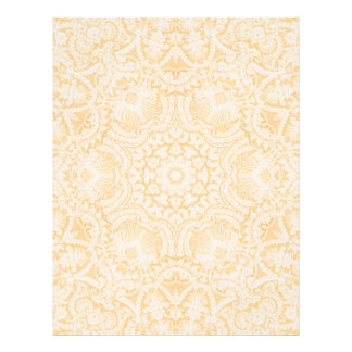 Gold Baroque Bridal Lace Letterhead