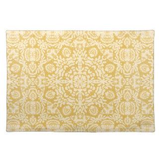 Gold Baroque Lace Placemat