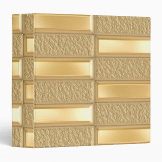 Gold Bars Binder
