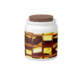 Gold Bars Candy Jars
