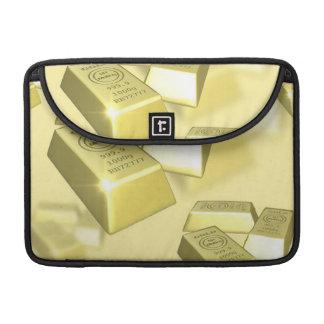 Gold Bars MacBook Pro Sleeves