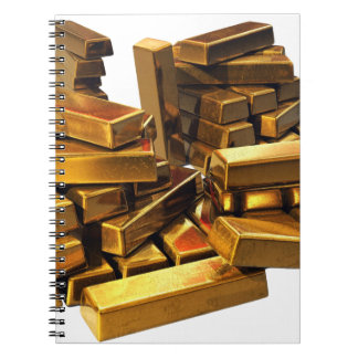 Gold Bars Notebook
