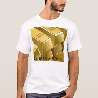 Gold Bars of The Binary Options Trader T-Shirt