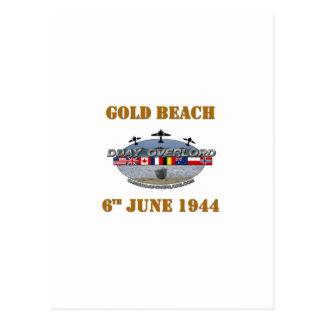 Gold Beach 6th June 1944 Postcard