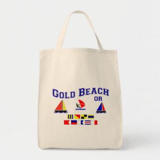 Gold Beach OR Signal Flags Tote Bag