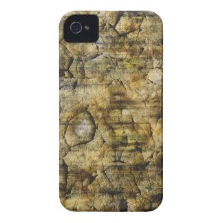 Gold Beige Grunge Pattern Photo iPhone 4 Case-Mate