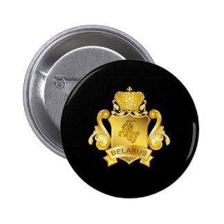 Gold Belarus Pins