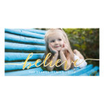 Gold Believe | 2014 Holiday Photo Card