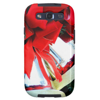 Gold Bells of December Galaxy SIII Cases