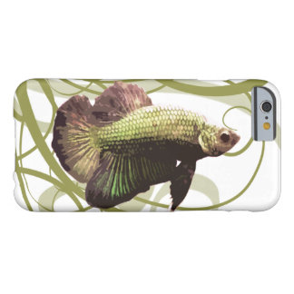 Gold Betta Siamese Fighting Fish Barely There iPhone 6 Case