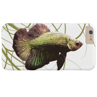 Gold Betta Siamese Fighting Fish Barely There iPhone 6 Plus Case
