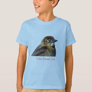 Gold bird, Tybee Island, GA T-Shirt