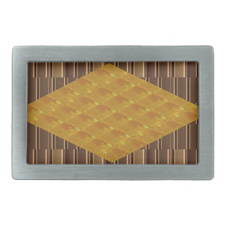 Gold Biscuits Golden Plates Decoration Gifts FUN Rectangular Belt Buckles