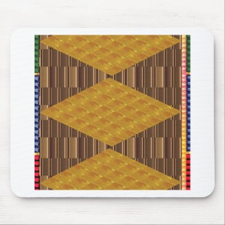 Gold Biscuits Golden Plates Decoration Gifts FUN Mousepads