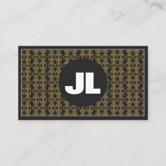 Gold & Black Business Card