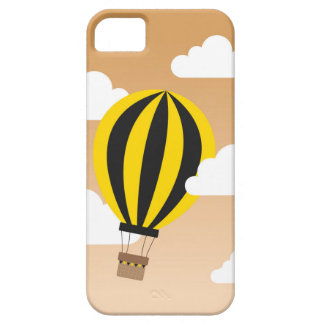 Gold & Black Hot Air Balloon iPhone SE/5/5s Case