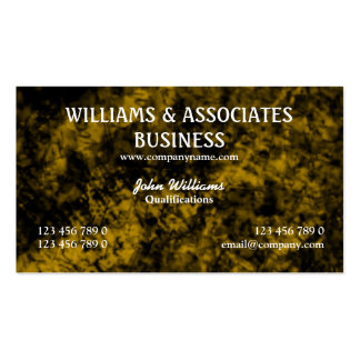 Gold black interior design art Double-Sided standard business cards (Pack of 100)