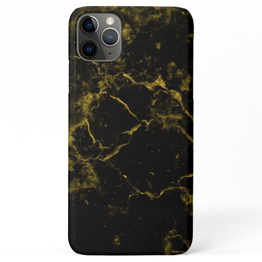 Gold & Black Marble iPhone 11 Pro Max Case
