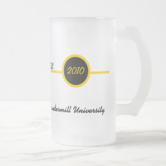 Gold & Black Personalized Grad Mug