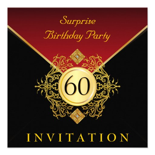 Surprise 60Th Birthday Invitations is one of our best ideas you might choose for invitation design