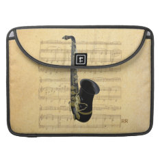 Gold Black Saxophone Music Macbook Pro 15