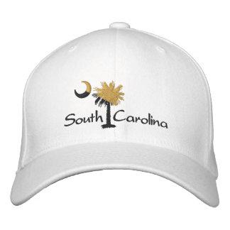 Gold/Black SC Dark Palmetto Moon Embroidered Hat