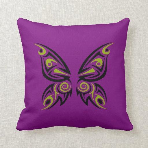 Gold Black Tribal Tattoo Design Throw Pillow Zazzle