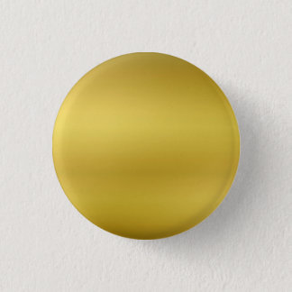 Gold Blank Custom Template Faux Foil Pinback Button