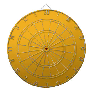 Gold Blank TEMPLATE : Add text, image, fill color Dart Board