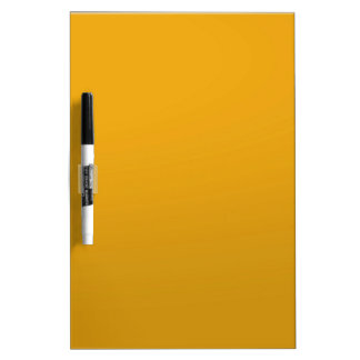 Gold Blank TEMPLATE : Add text, image, fill color Dry Erase Whiteboard
