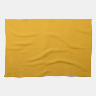 Gold Blank TEMPLATE : Add text, image, fill color Kitchen Towel