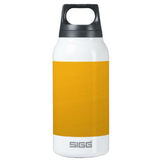 Gold Blank TEMPLATE : Add text, image, fill color Thermos Bottle