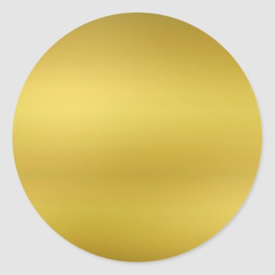 Gold foil background customizable round sticker zazzle com