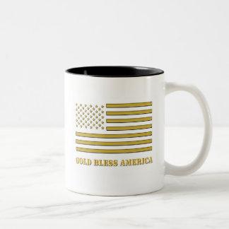 Gold Bless America™ Mug