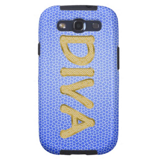 gold bling DIVA Galaxy S3 Cases