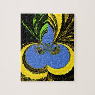Gold Blue Puzzle