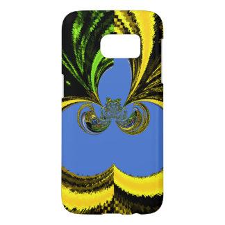 Gold Blue Samsung Galaxy S7 Case