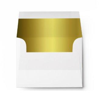 Gold Bow Custom Envelope envelope