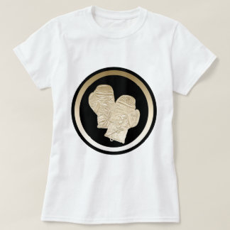 GOLD BOXING GLOVES T-Shirt